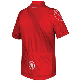 Endura Ray S/S Jersey Kids Red